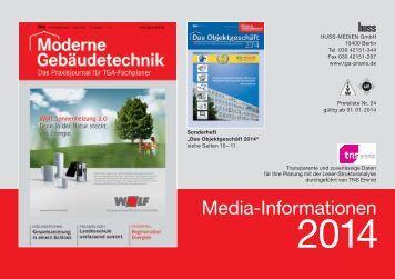 Mediadaten 2014 im PDF-Format - Moderne Gebäudetechnik