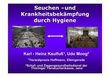 Dr. Karl-Heinz Kaulfuß - Tiergesundheitsdienst Sachsen-Anhalt