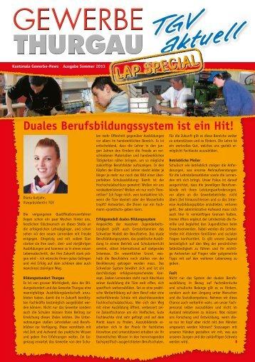 LAP Special 2013 - Thurgauer Gewerbeverband