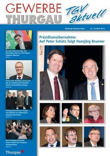 April 2013 - Thurgauer Gewerbeverband