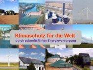 Die Klimaentwicklung und der nachhaltige Klimaschutz in Sachsen