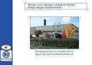 Ganztagsbetreuung der Werner-v.-Siemens-Schule in Maintal