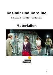 KASIMIR UND KAROLINE - Schauspiel von ... - Theater Lüneburg