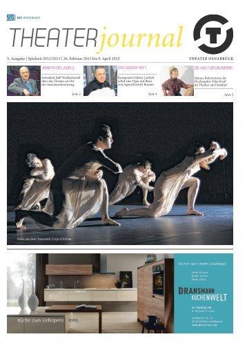 THEATERjournal - Theater Osnabrück