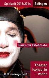 Broschüre - Theater Solingen