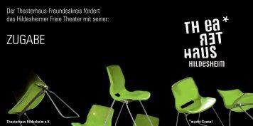 Freundeskreis - Flyer - Theaterhaus Hildesheim