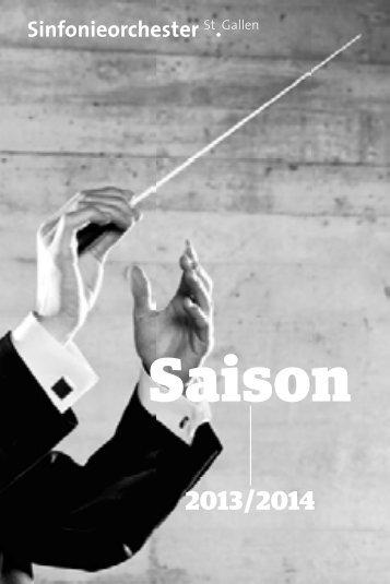 Konzert 2013/14 - Theater St. Gallen