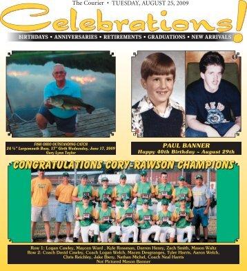 Congratulations Cory-Rawson Champions Congratulations Cory