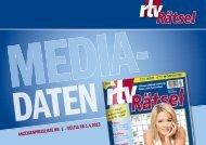 Mediadaten Nr. 1 (gültig ab 1.4.2013) - rtv-mediasolutions Home