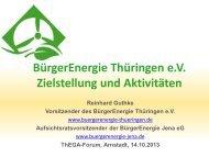 BürgerEnergie Thüringen eV - ThEGA