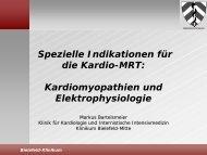Spezielle Indikationen für die kardiale MRT ... - theHeart.de