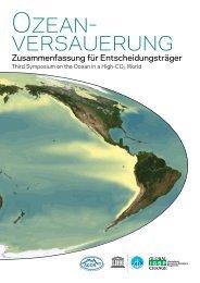 Ozeanversauerung - Zusammenfassung für Entscheidungsträger