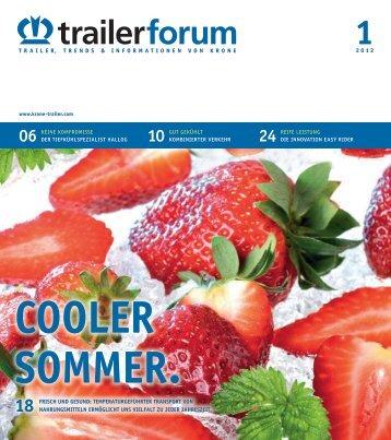 KRONE trailerforum 1-2012