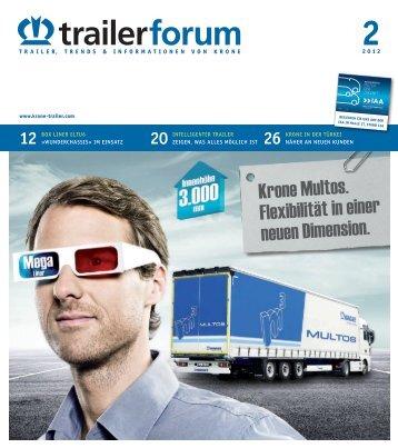 KRONE trailerforum 2-2012