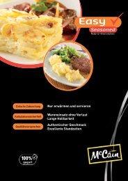 Easy Seasoned - McCain Food Service