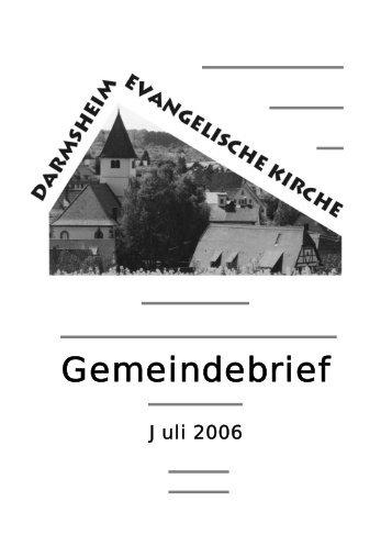 Ein Riese ist gefallen - Evangelische Kirchengemeinde Darmsheim
