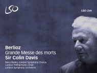 Berlioz Grande Messe des morts Sir Colin Davis