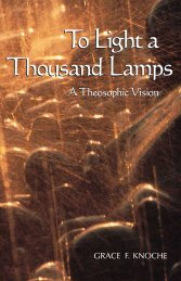 To Light a Thousand Lamps - The Theosophical Society