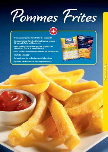 P ommes Frites - Agrarfrost