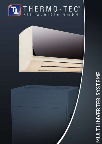 Multi-Inverter-System - THERMO-TEC Klimageräte GmbH