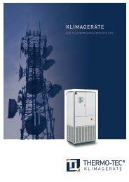 Prospekt ohne Preis - THERMO-TEC Klimageräte GmbH