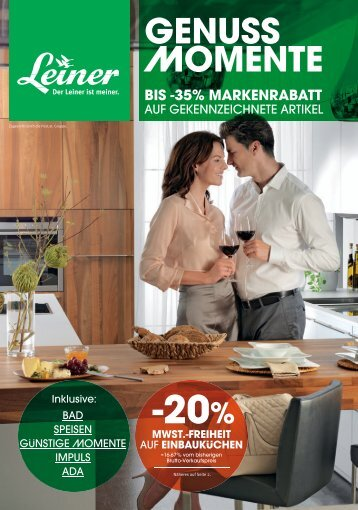 GENUSS MOMENTE - Leiner