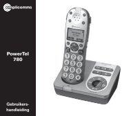 PowerTel 780 - Phone Master