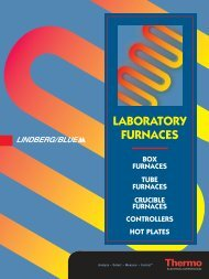 Lindberg/Blue M Furnaces
