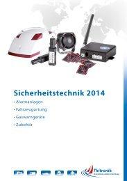 Sicherheitstechnik 2014 - Thitronik GmbH