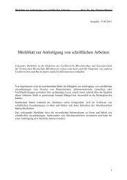 Merkblatt - Technische Hochschule Mittelhessen