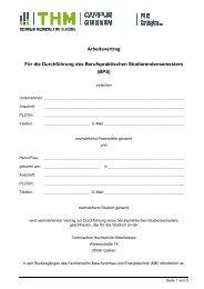 BPS - Technische Hochschule Mittelhessen
