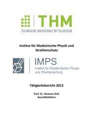 imps tätigkeitsbericht 2012 - Technische Hochschule Mittelhessen