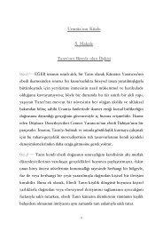 Urantia'nın Kitabı 5. Makale Tanrı'nın Bireyle olan İlişkisi