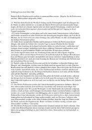 Schulregeln aus dem Jahr 1666 - Gymnasium Thomaeum Kempen