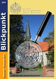 2013 | Ausgabe 203 | September - Kirchenkreis Burgdorf