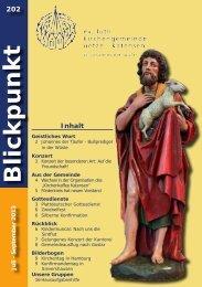 2013 | Ausgabe 202 | Juli - Kirchenkreis Burgdorf