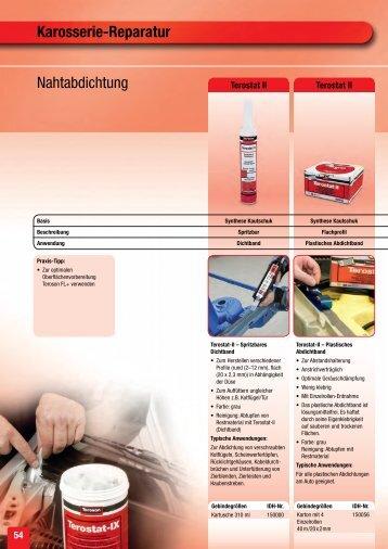 Karosserie-Reparatur Nahtabdichtung - Thommen Furler AG