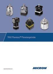 TRUE Planetary™ Planetengetriebe - Thomson
