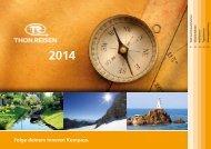 Gesamtkatalog 2014 - Thon Reisen
