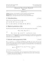 Übungsblatt 2 - Universität zu Köln