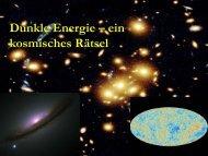 Dunkle Energie – ein kosmisches Rätsel