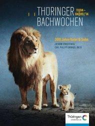 Bach - Thüringer Bachwochen 2014