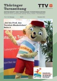 Dezember 2012 - Thüringer Turnverband