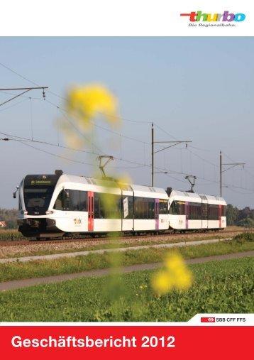 Geschäftsbericht 2012 - v5def - Thurbo