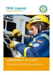 Jahresbericht 2012/2013 - THW-Jugend eV