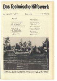 Juli - THW-historische Sammlung