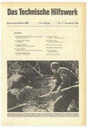 Das Technische Hilfswerk - THW-historische Sammlung