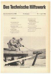 April - THW-historische Sammlung
