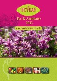 Tee & Ambiente 2013 - Thymian