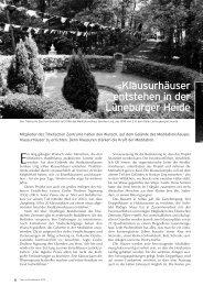 Klausurhäuser entstehen in der Lüneburger Heide - Tibetisches ...